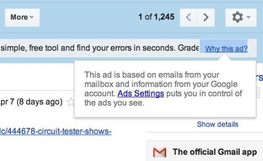 Gmail Scans Your Emails for More Targeted Ads (Here's How to Limit What You See)