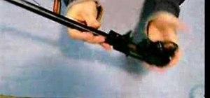 Modify a Ruger 10/22 semi-automatic rifle