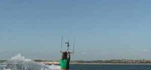 Pull a 313 kiteboarding