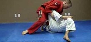Do a Jiu Jitsu knee bar from a side control position.