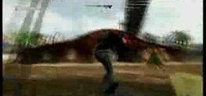 "Do the ""skull freeze"" glitch in Tony Hawk's Project 8"