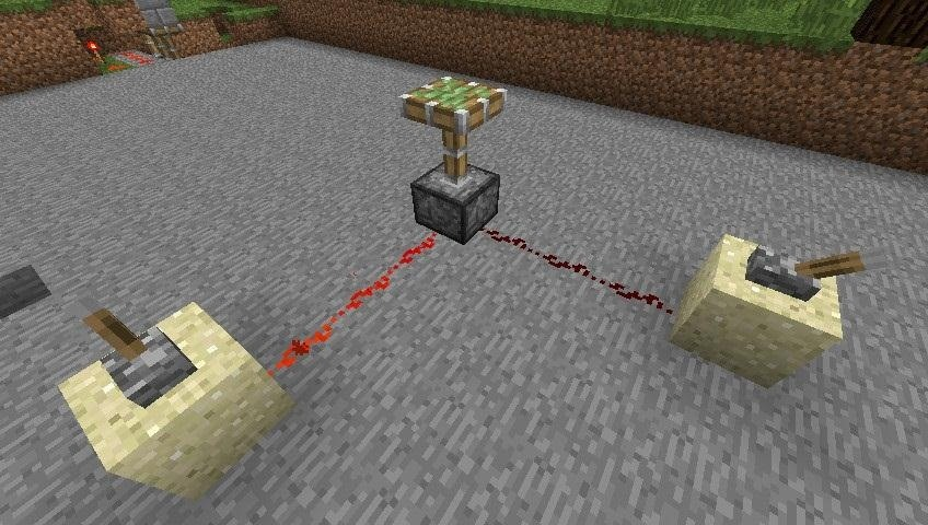 Redstone Logic: Control Your Machines from Multiple Switches Using OR and NOR Gates