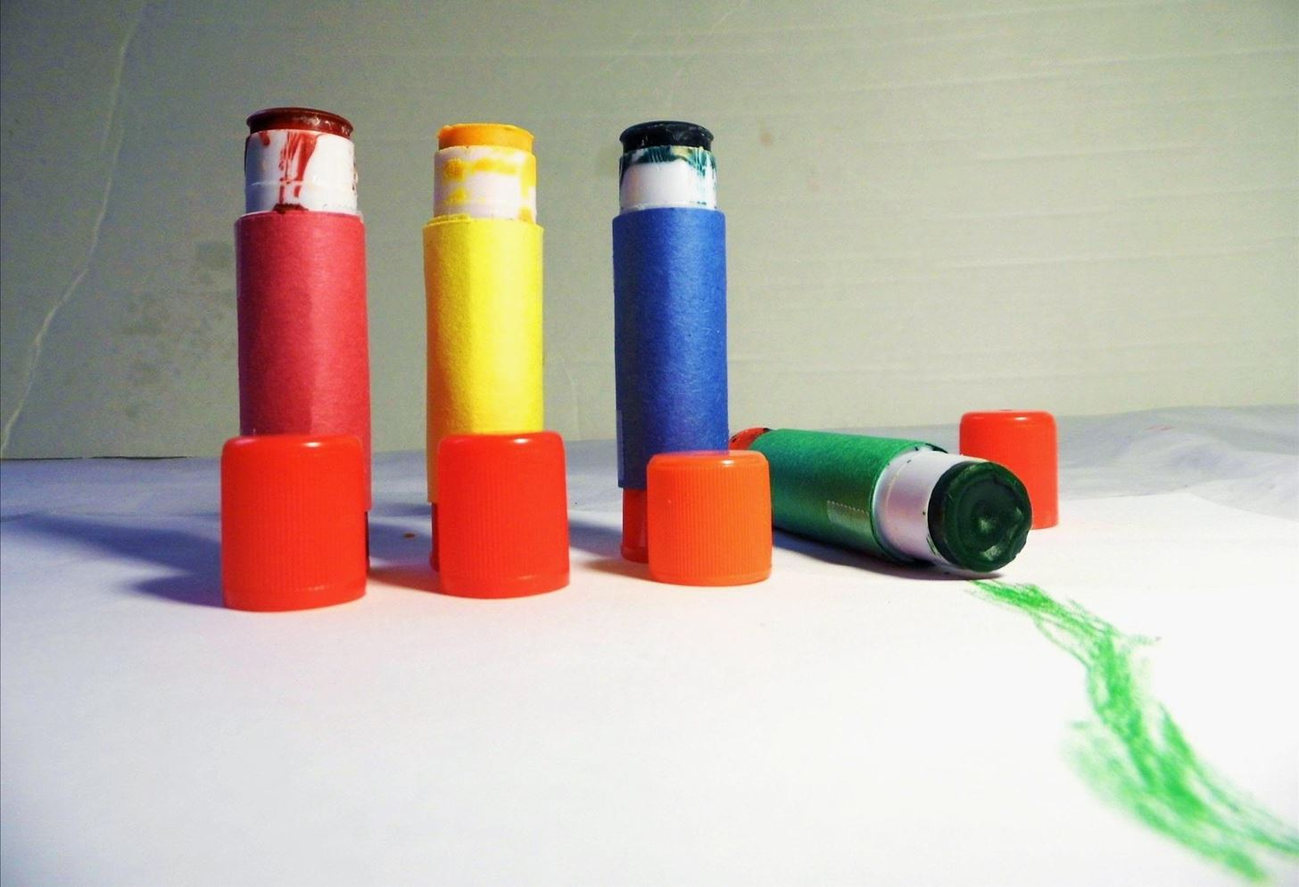 Recycle Your Kid's Crayon Nubs into Bigger, Cleaner Pushup Crayons