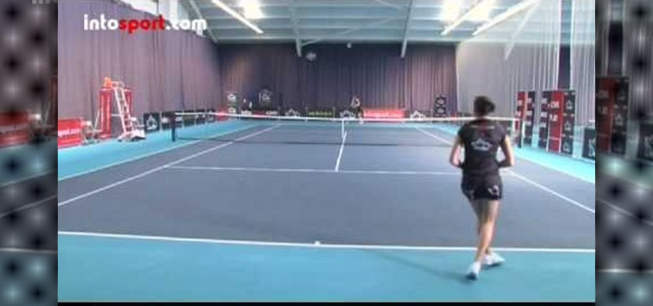 how to put significant topspin tennis forehand