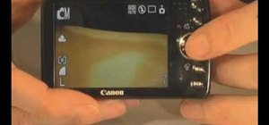 Use the Canon PowerShot SD 750 digital camera