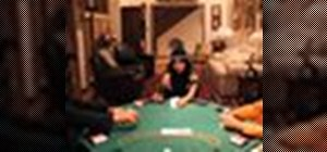 Follow the proper etiquette while playing poker