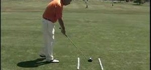 Improve grip, aim, stance and posture in golf