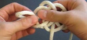 Tie a River knot