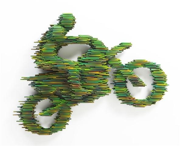 Speedy PVC Pipe Sculptures