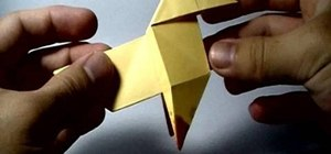 Origami a pajarita (bird featured on PS3's Heavy Rain)
