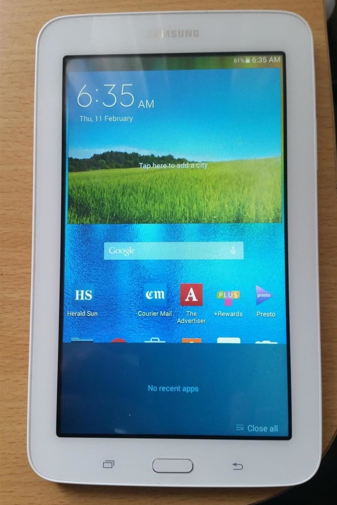 Samsung Galaxy Tab 3: How to stop apps window opening continuously?