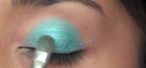 Create a super sparkly pixie dust makeup look for Halloween