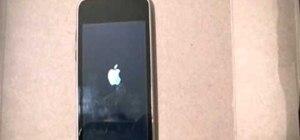 Fix a frozen 2nd generation iPod Touch