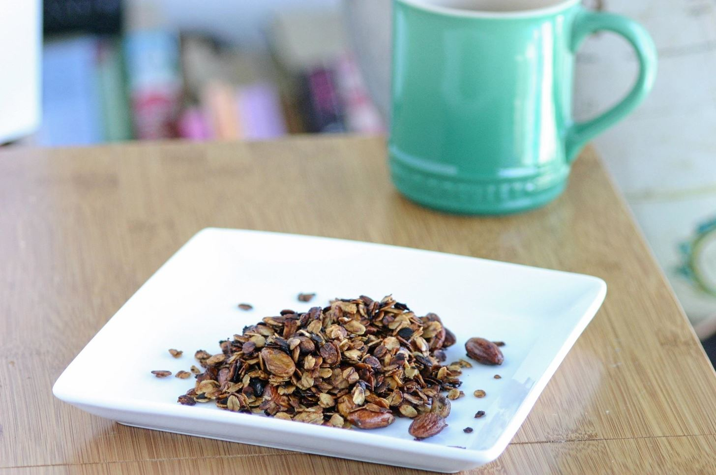 Ditch the oven make crunchy stovetop granola in just 5 minutes image by brady klopferfood hacks daily ccuart Images