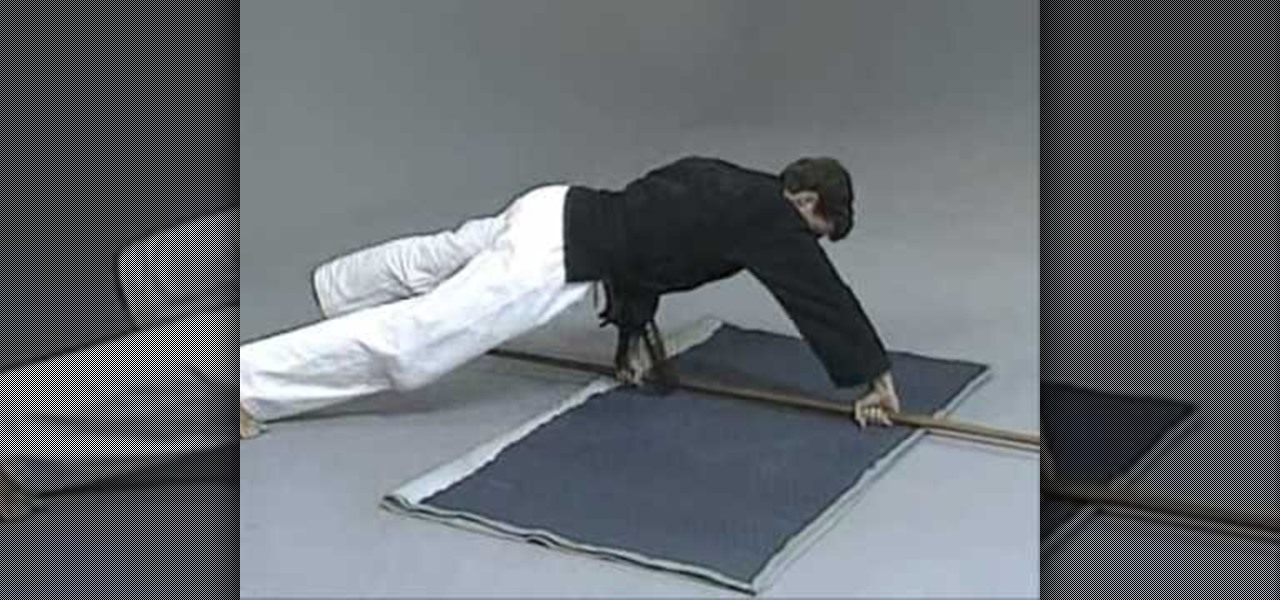 How to Do sit-ups and push-ups with a bo « Martial Arts ...