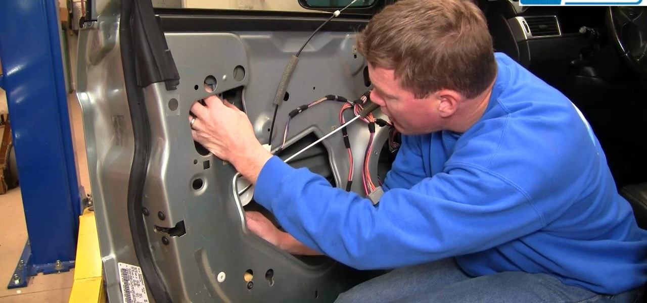 How To Replace The Power Window Regulator In A 2004 08