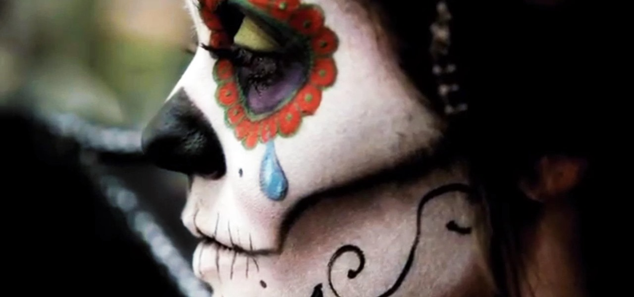 DIY Sugar Skull Halloween Look with Rick Baker, Horror Makeup FX Master