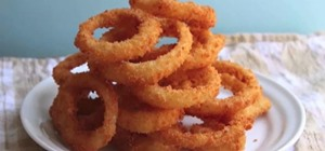 Make Crispy Onion Rings with Instant Mashed Potatoes