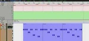 Automate tempo in Pro Tools LE