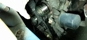 Replace a timing belt & crankshaft seal on a Tercel