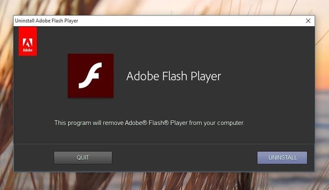 adobe flash update pc