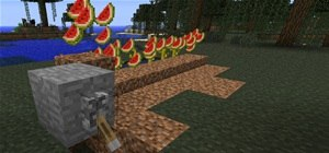 Build an Automatic Melon Farm in Minecraft
