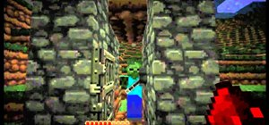 Set up five different traps in Minecraft to kill zombies