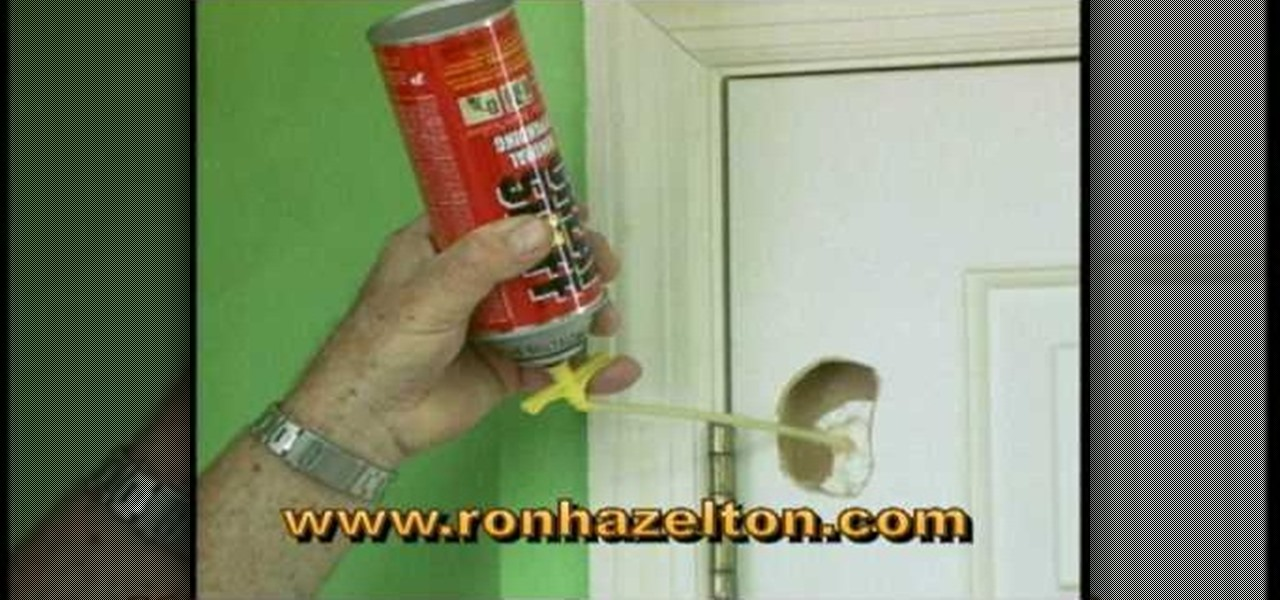 Captivating How To Patch A Hole In A Hollow Core Door « Construction U0026 Repair ::  WonderHowTo