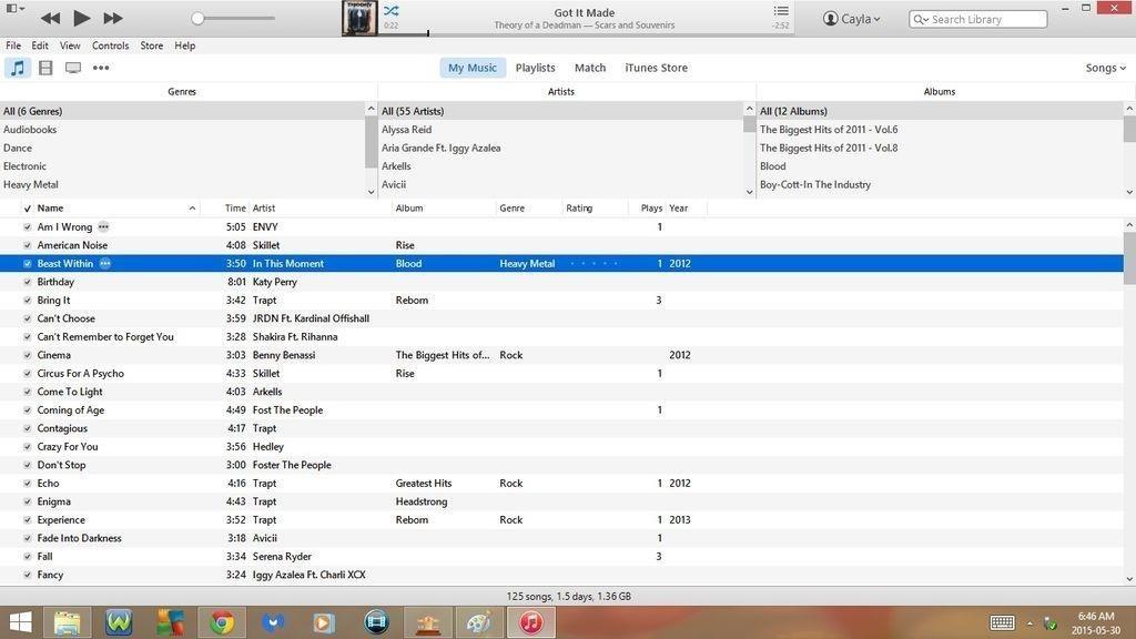how to open cd in itunes