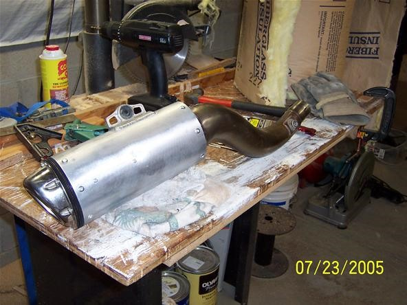 How to Repack a Motorcycle Muffler