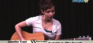 """Play """"The Sound"""" by Switchfoot on an acoustic guitar"""