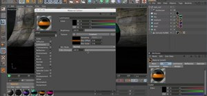 Animate materials when working in MAXON Cinema 4D