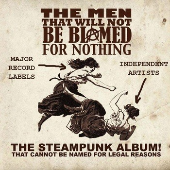 Treat Yourself (Or Someone Else) to Some Steampunk Music This Holiday Season!