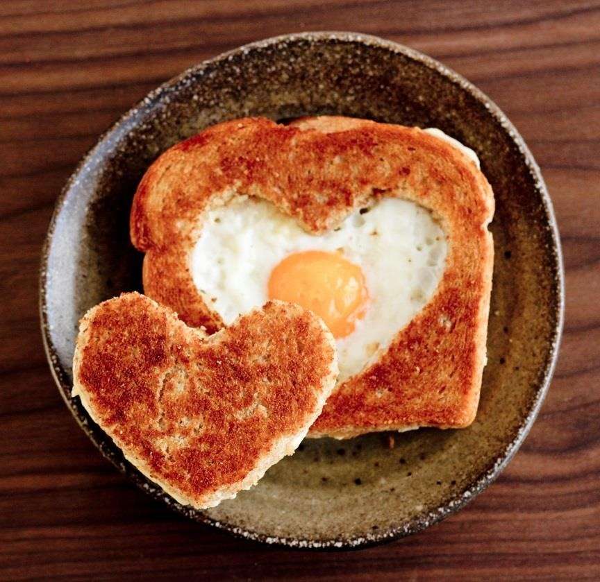 11 heart-shaped foods to make on valentine's day for breakfast, Ideas