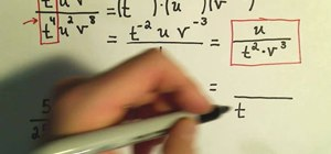 Simplify expressions with negative exponents