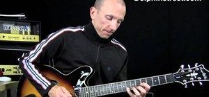 Play interesting lead parts with the A Minor blues scale