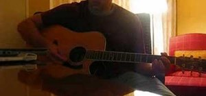 "Play ""Everything"" by Johnny Cooper on acoustic guitar"