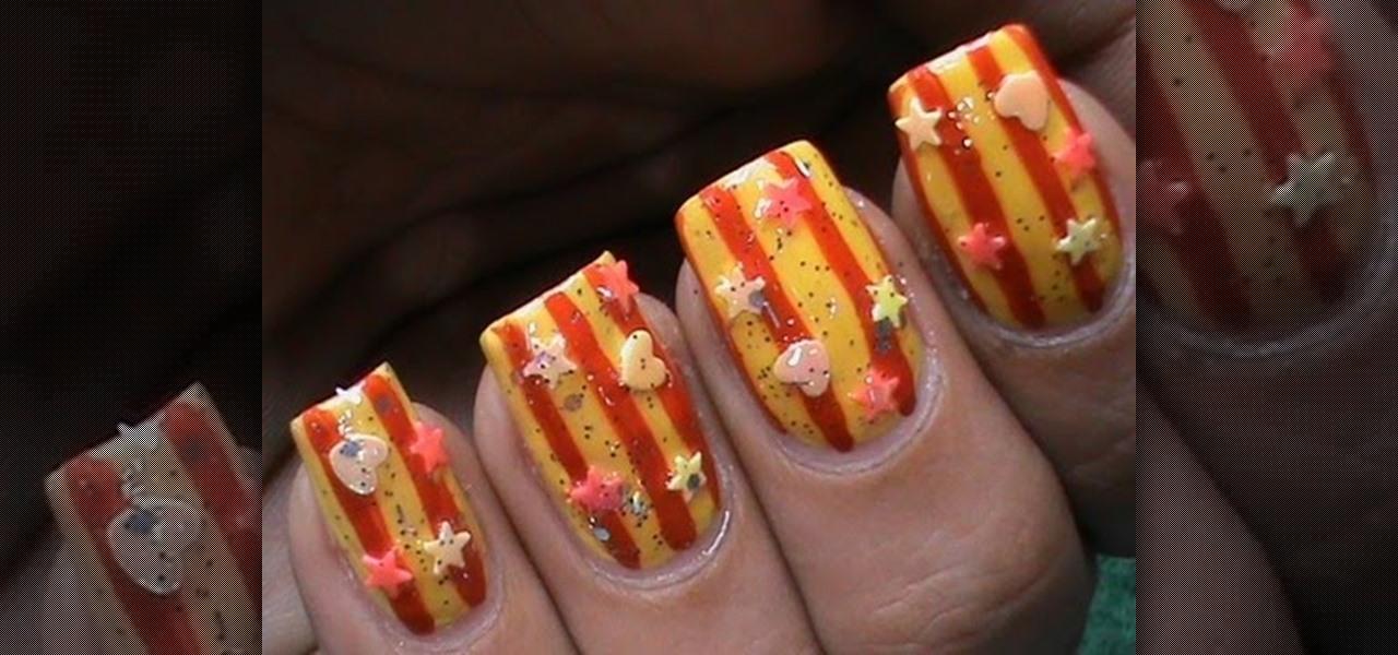 Do Seaside Sunnies Nail Art
