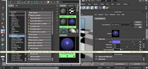 Use the mia_material material shader in Maya 2011