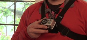 Strap a GoPro digitial camera to your chest with a chesty mount