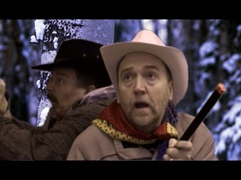 "A still from my Comedy ""How to survive a Grizzly!"""