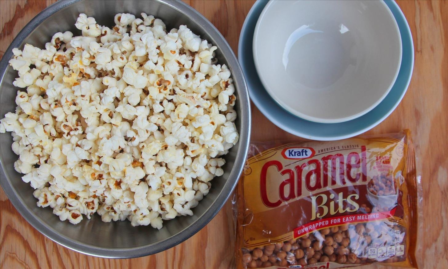 How to Make a Caramel Popcorn Bowl You Can Eat
