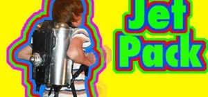 Build a jet pack movie prop