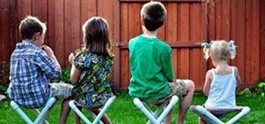PVC Pipe Camp Chairs For Kids