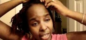 Do a hot oil hair treatment on twisted or braided hair