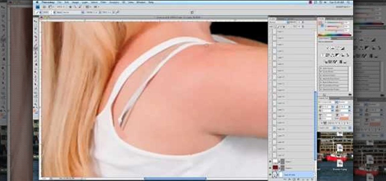 How to Remove a Bra Strap