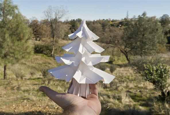 My Origami Christmas Tree