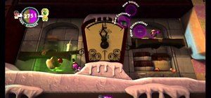 Get all the prize bubbles in Cakeinator on Little Big Planet 2