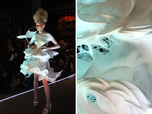 Sew No More! Spray on Dress (Better Not Melt...)