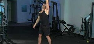 Do a single dumbbell windmill and Arnold press